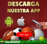 Meridianbet Aplicación móvil