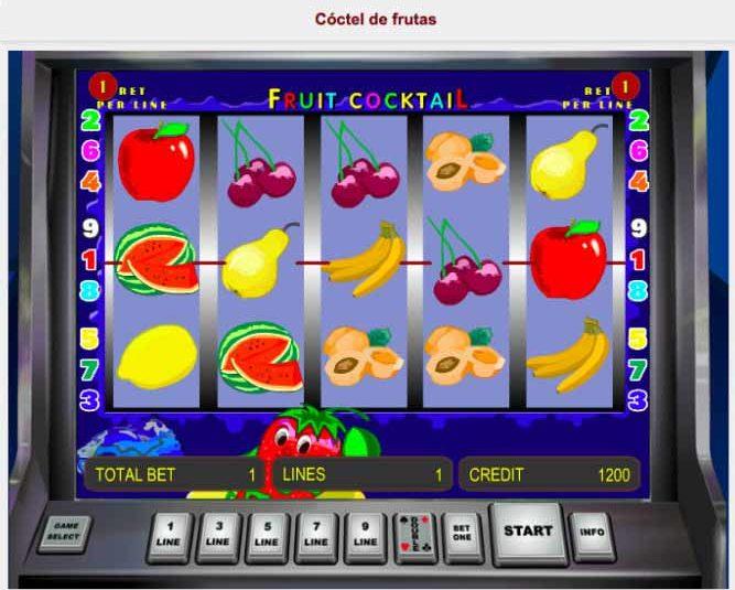Como ganar en máquinas tragamonedas de frutas