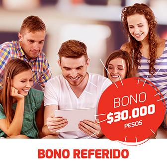 zamba bono referido 30 mil