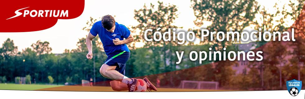 Sportium Código Promocional Colombia
