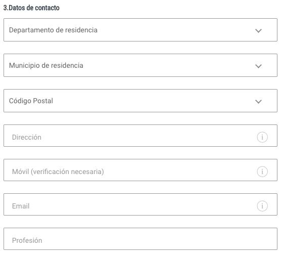 codere registrarse